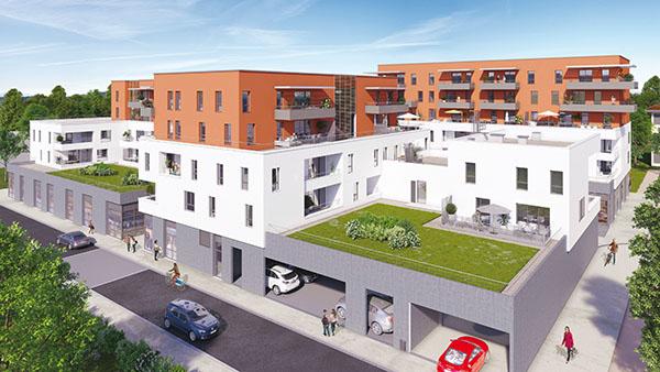 Projet valmar de requalification de centre ville la for Chambery metropole piscine