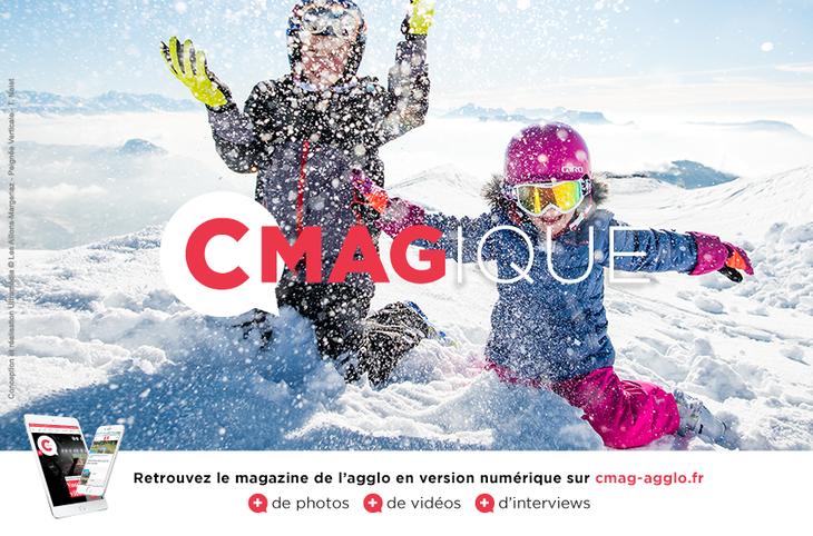 37db41ba9b89 Le Cmag61 de l hiver, le magazine de l agglomération de Grand Chambéry est  en ligne